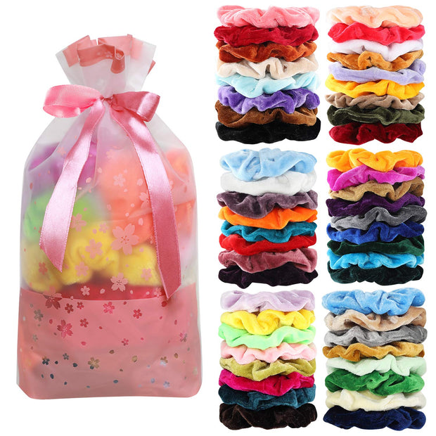 50 set of scrunchies