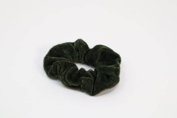 army green scrunchie