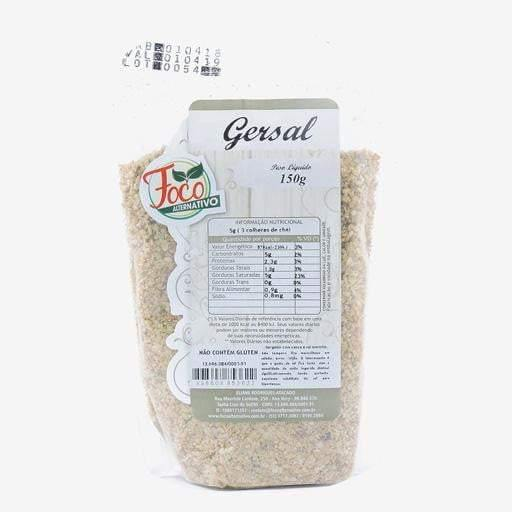 Gersal 150g - Foco Alternativo