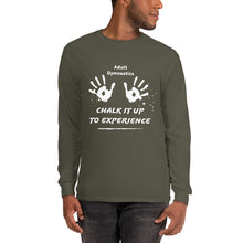 Load image into Gallery viewer, Adult Gymnastics: Chalk It Up to Experience - Long Sleeve T
