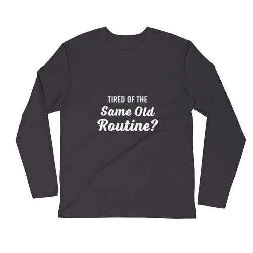 Tired of the Same Old Routine? Try Adult Gymnastics - Long Sleeve Fitted Crew