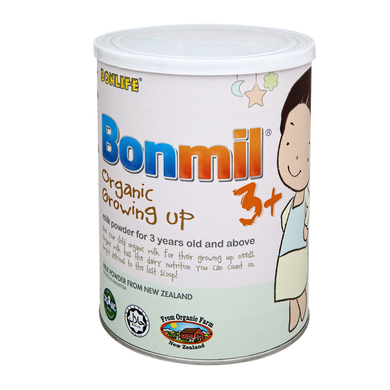 BONMIL ORGANIC GROWING UP 3+ MILK POWDER