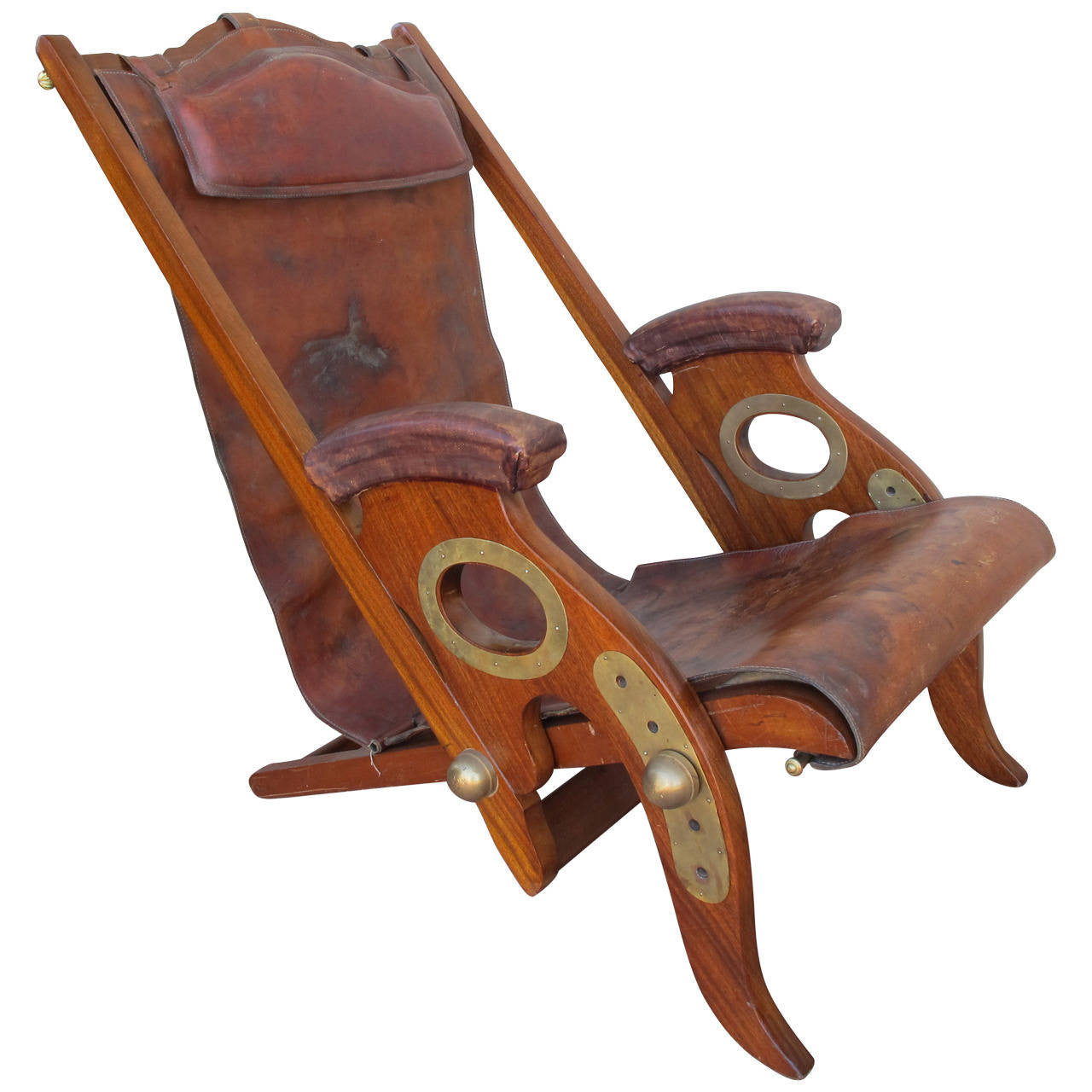 19th Century British Campaign Chair