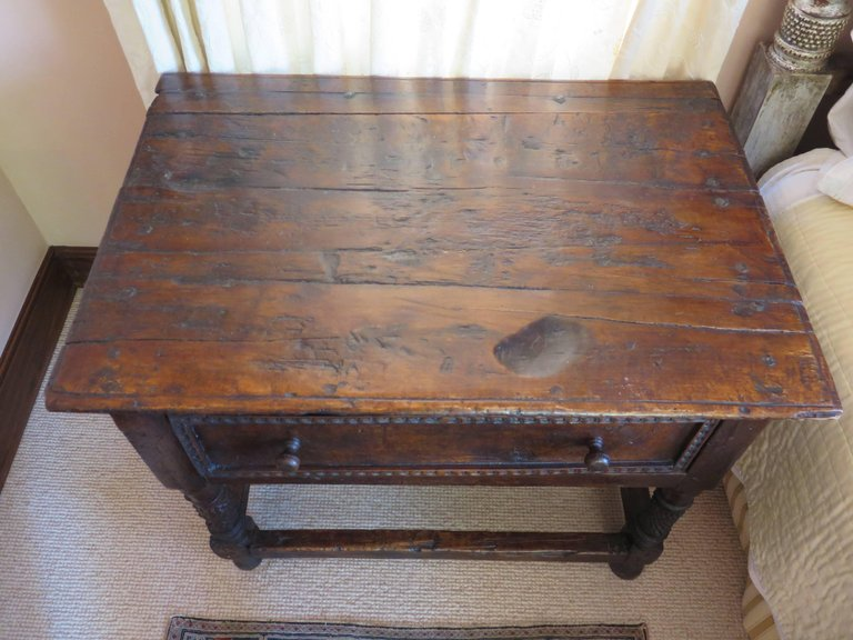 18th Century Spanish Colonial Table - Antique Inventory - Haskell Antiques
