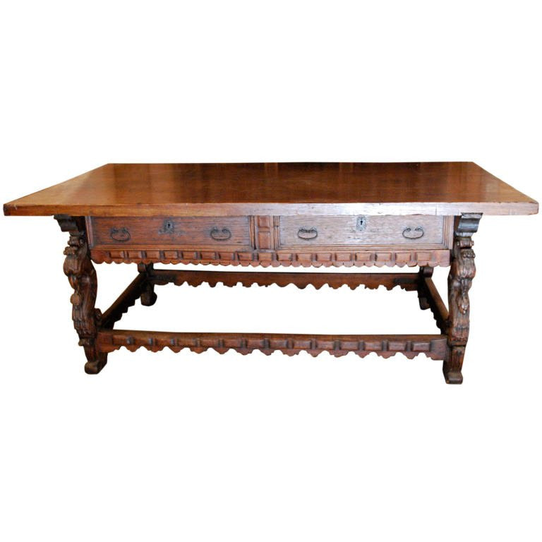 18th Century Spanish Colonial Mexican Console Table