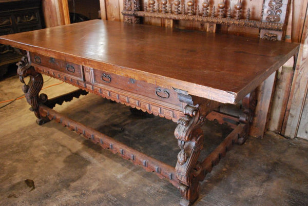 Super 18Th Century Spanish Colonial Mexican Console Table Caraccident5 Cool Chair Designs And Ideas Caraccident5Info