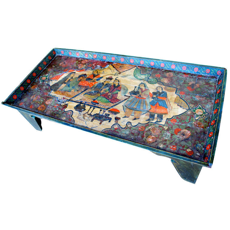 19th Century Indian or Middle Eastern Coffee Table Haskell Antiques