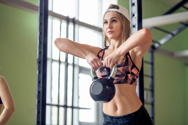 The Killer Kettle Bell Workout Routine for that Hot Bikini Body