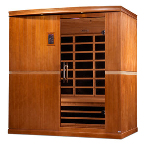 DYN-6410-01 Dynamic Low EMF Far Infrared Sauna, Grande Madrid Edition - www.babylife4u.com