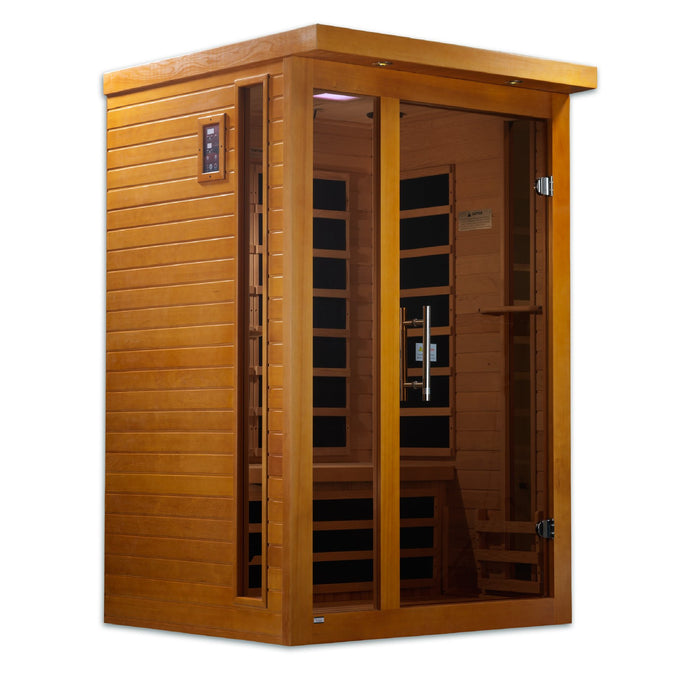 DYN-6215-01 Dynamic Low EMF Far Infrared Sauna, Vienna Edition - www.babylife4u.com