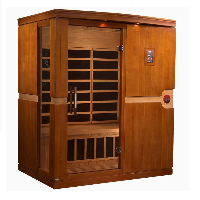 DYN-6310-01 Dynamic Low EMF Far Infrared Sauna, Madrid Edition - www.babylife4u.com