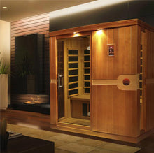 Load image into Gallery viewer, DYN-6310-01 Dynamic Low EMF Far Infrared Sauna, Madrid Edition - www.babylife4u.com