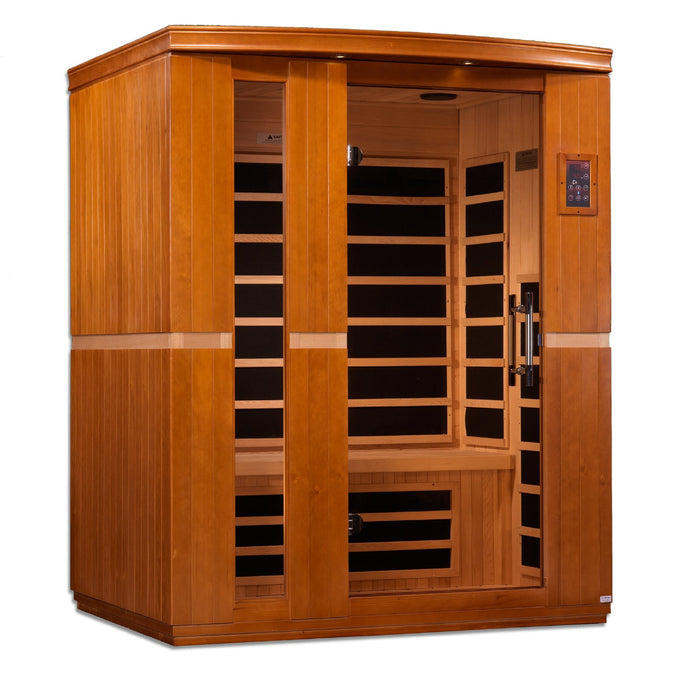 DYN-6336-01 Dynamic Low EMF Far Infrared Sauna, Lugano Edition - www.babylife4u.com