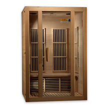 "Load image into Gallery viewer, Maxxus ""Seattle"" 2 person Low EMF FAR Infrared Sauna Canadian Hemlock - www.babylife4u.com"