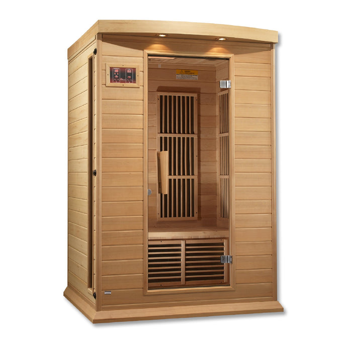 Maxxus Low EMF FAR Infrared Sauna Canadian Hemlock - www.babylife4u.com