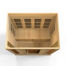 Load image into Gallery viewer, Maxxus 4 Per Low EMF FAR Infrared Carbon Canadian Hemlock Sauna - www.babylife4u.com