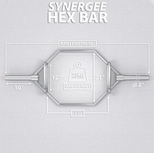 Load image into Gallery viewer, Synergee Hex Trap Bar - www.babylife4u.com
