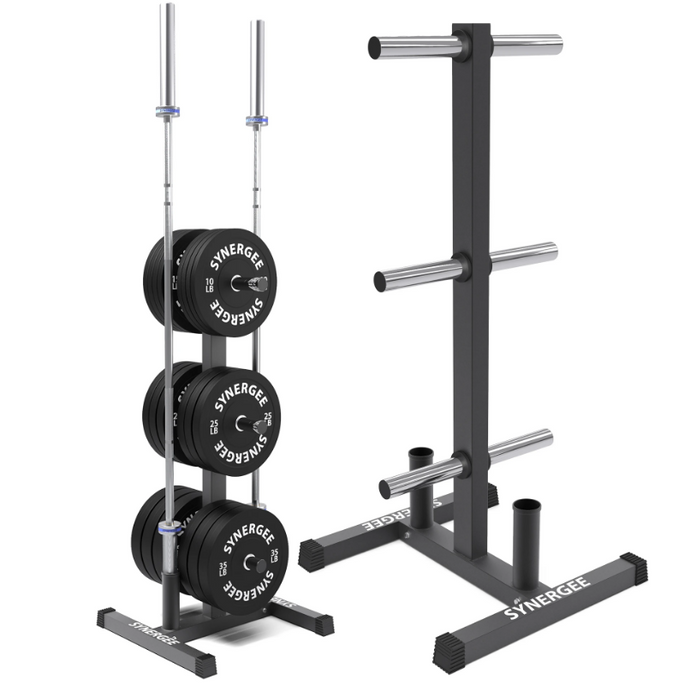 Synergee Olympic Weight Plate & Barbell Holder - www.babylife4u.com