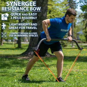 Synergee Resistance Bands With Bow - www.babylife4u.com