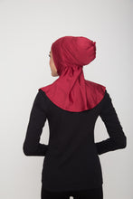 Load image into Gallery viewer, Swim Hijab - Shimmery Burgundy
