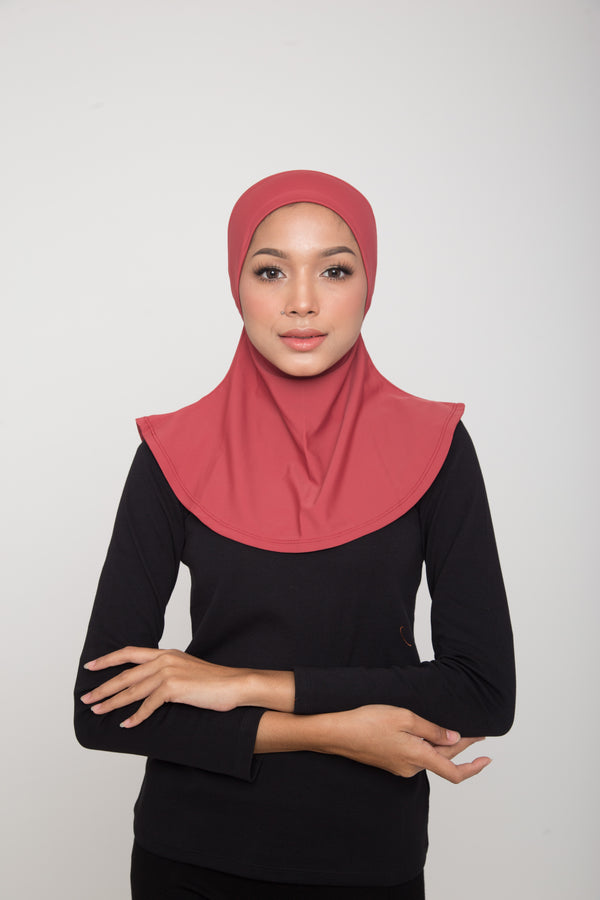 Swim Hijab - Light Burgundy