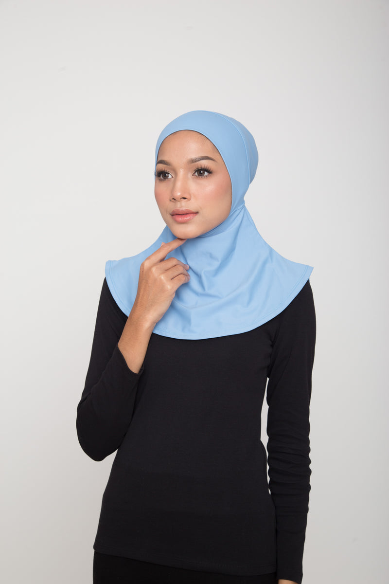 Swim Hijab - Light Blue