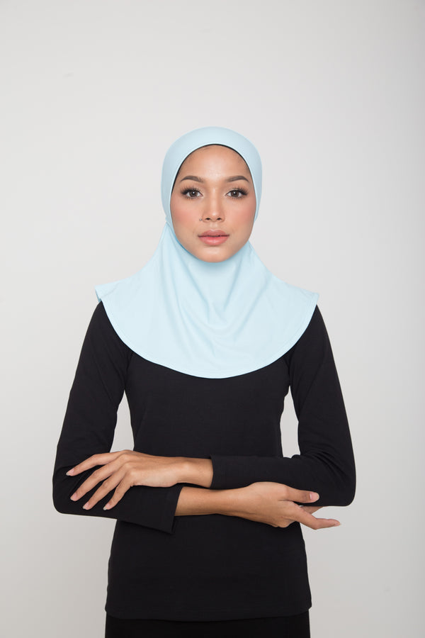 Swim Hijab - Baby Blue