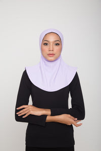 Swim Hijab - Light Purple