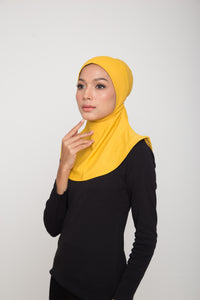 Swim Hijab - Yellow