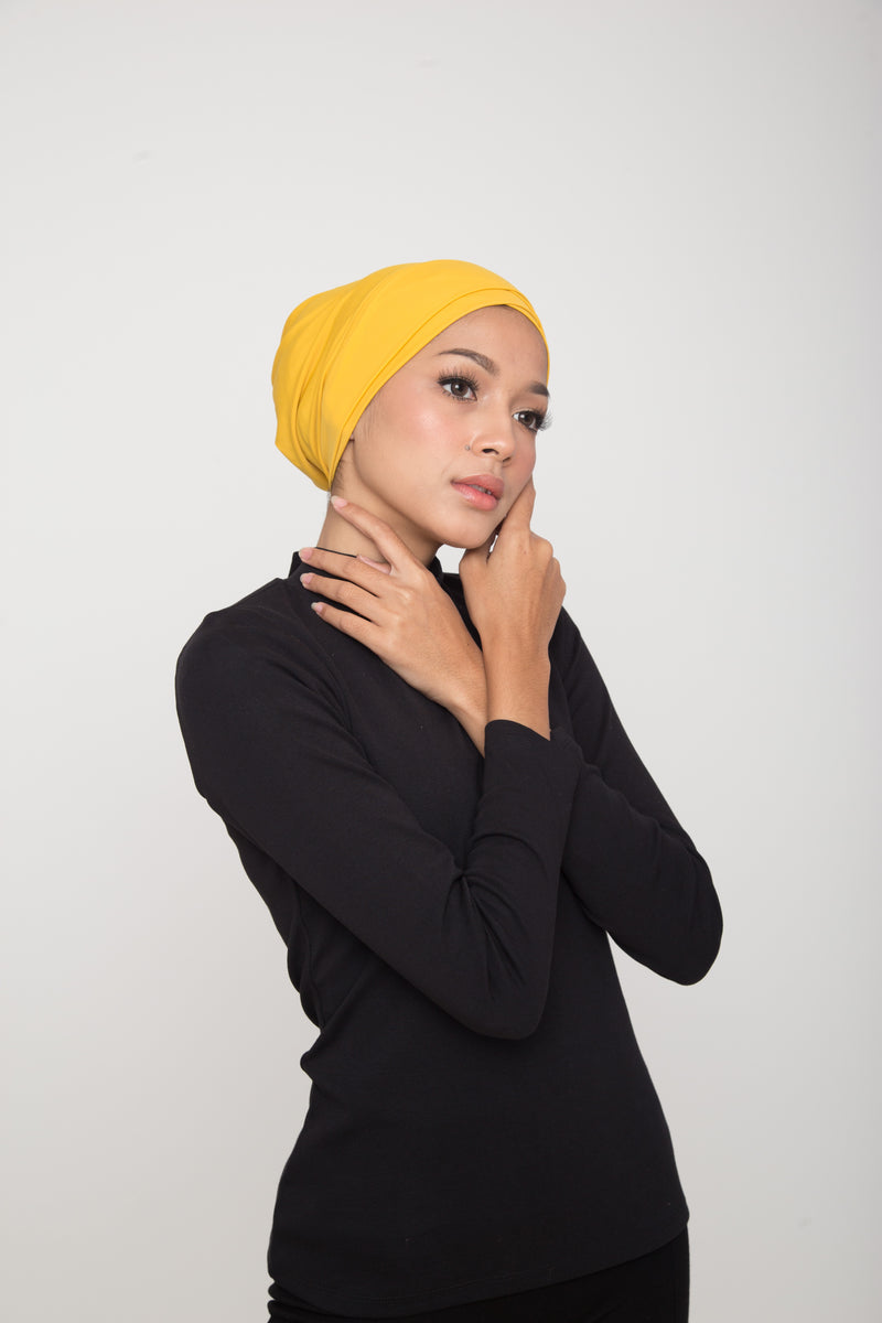 Swim Turban - Yellow