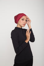 Load image into Gallery viewer, Swim Turban - Shimmery Burgundy