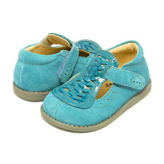 sale - Toi Turquoise Suede Shoes