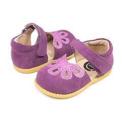 sale - Petal Violet Suede Shoes