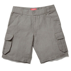 Grey Linen Short, size 1-2 years only