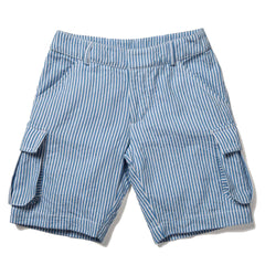 Blue Stripe Short, size 11-12 only