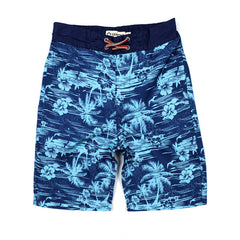 Navy Blue Swim Trunks