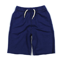Blue Camp Shorts