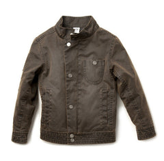 Brown Moto Jacket