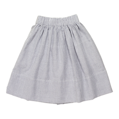 sale - Willa Blue Stripe Seersucker Skirt