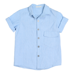Light Blue Bill Shirt