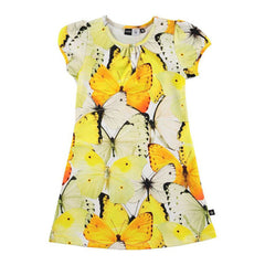 Carmellia Dress Africa Butterfly Print, size 11-12 years only