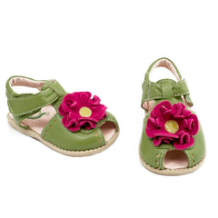 sale - Bloom Lime Sandals