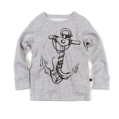 Anchor Reversible Sweatshirt