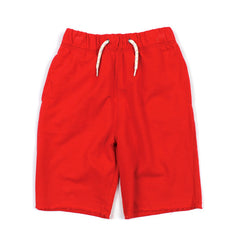 Red Camp Shorts