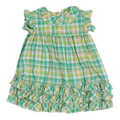 Dottie Plaid Dress, size 2 only