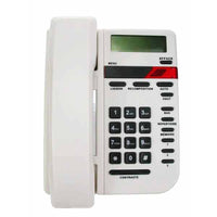 White Vista caller ID telephone