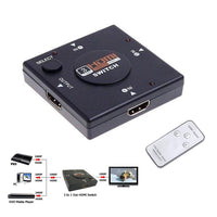 HDMI Switcher 3-in-1 with Remote