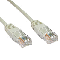 CAT6 Ethernet Network Cable Grey 25ft