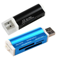 Globaltone All-in-1 Portable External Card Reader