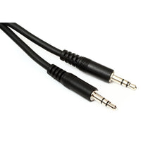 Globaltone 3.5mm Stereo male to male - 6 feet (1.83m)